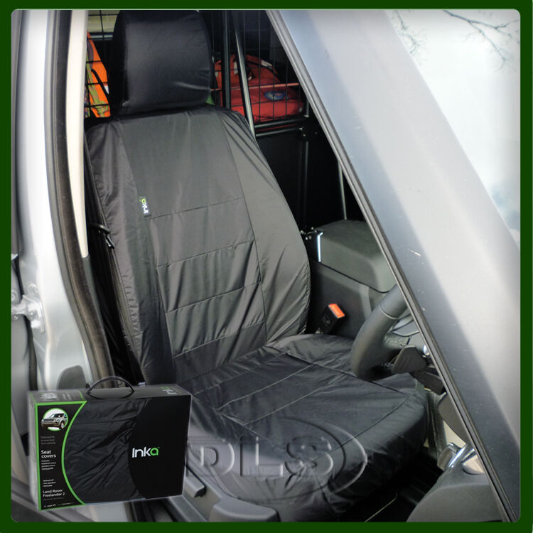 LAND ROVER DISCOVERY 4 FRONT BLACK WATERPROOF SEAT COVER