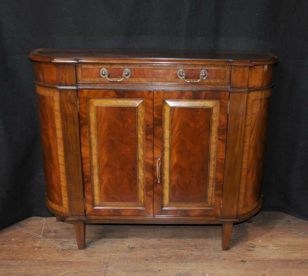regency sideboard server buffet cabinet english furniture ebay. Black Bedroom Furniture Sets. Home Design Ideas