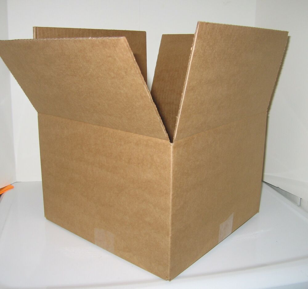 20x20x6 corrugated packing shipping moving boxes 20 ebay. Black Bedroom Furniture Sets. Home Design Ideas