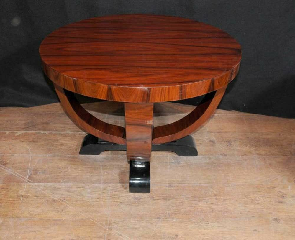 art deco side table rosewood occassional cocktail tables ebay. Black Bedroom Furniture Sets. Home Design Ideas