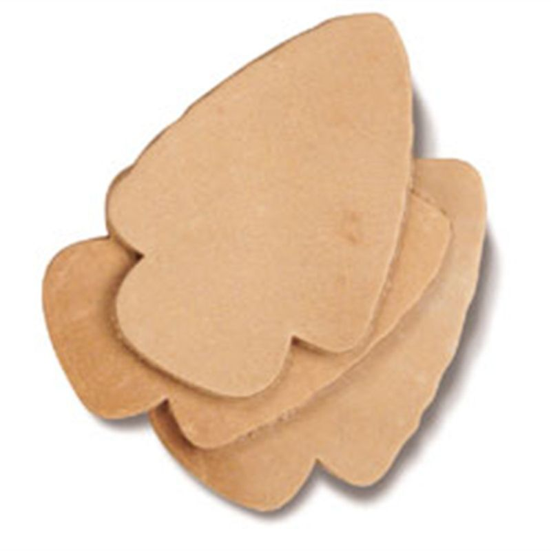 Arrowhead leather stamping tooling shapes 25 pk 4166 25 for Leather shapes for crafts