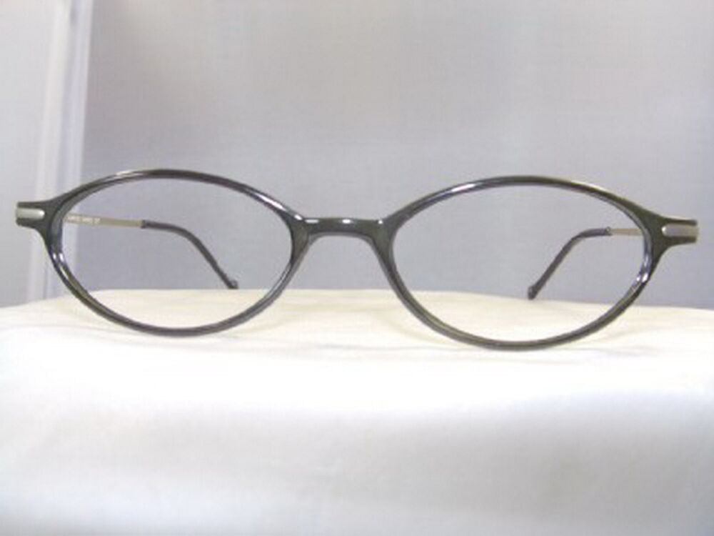 Eyeglass Frames Oval : HUSH PUPPY SMALL DARK GREEN OVAL EYEGLASS FRAME eBay