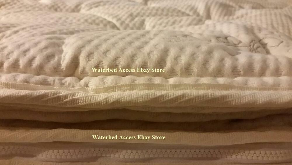 Replacement Pillowtop Zipper Cover For King Softside