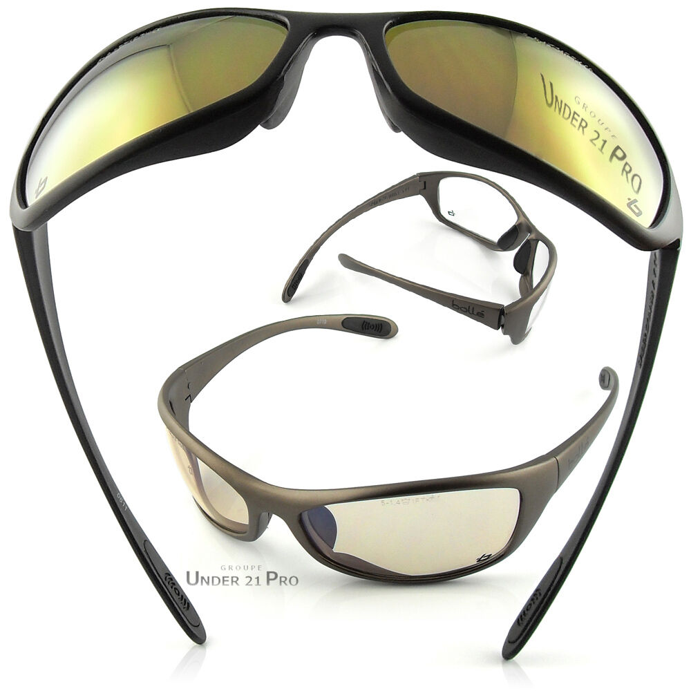 lunette de protection boll safety spider soleil v lo cycling glasses sunglasses ebay. Black Bedroom Furniture Sets. Home Design Ideas