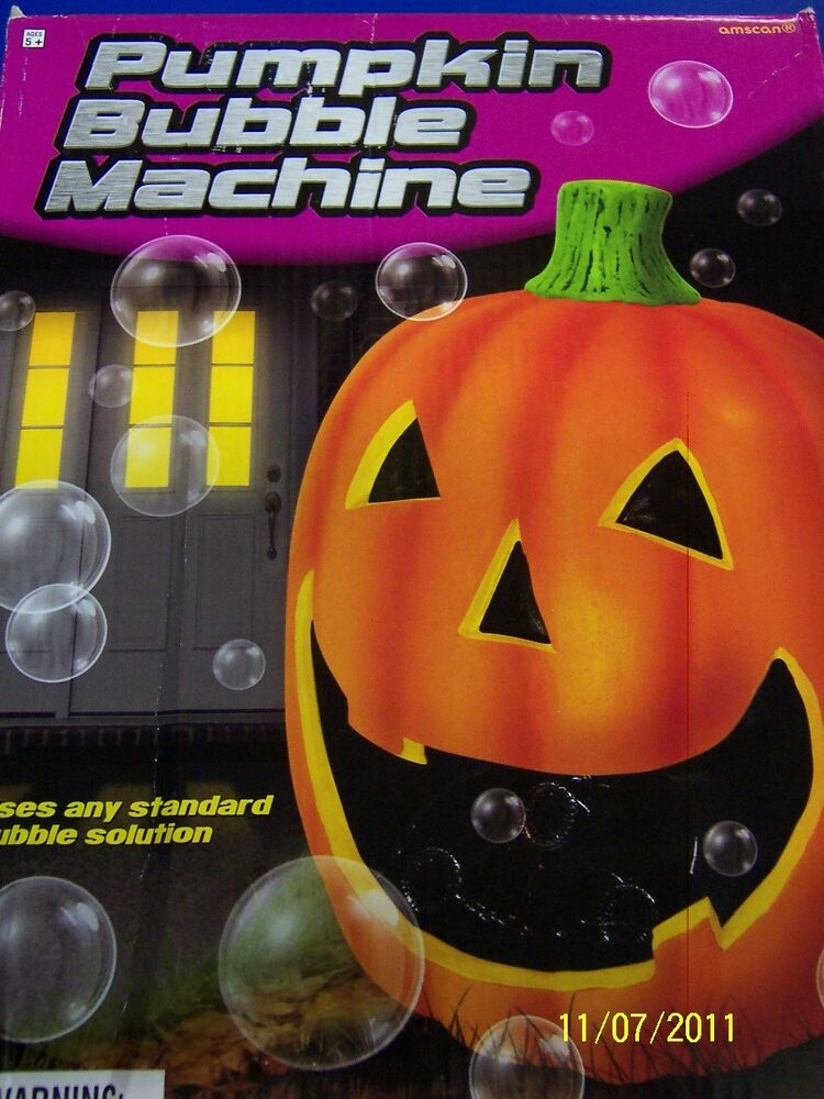 Pumpkin Bubble Machine Haunted House Halloween Carnival ...