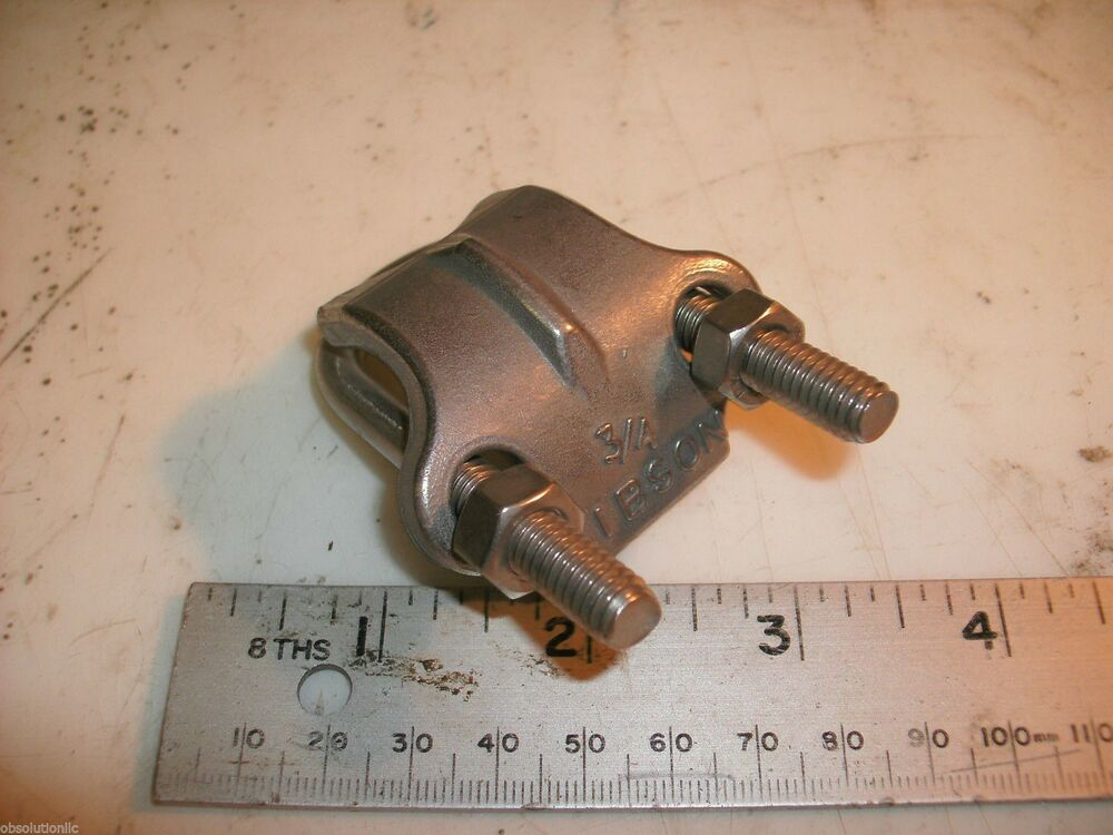 Right Angle Bolt : Gibson quot s u bolt w saddle pipe clamps right
