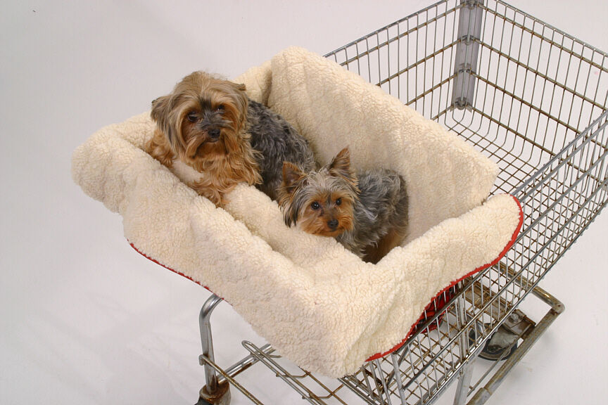 Brand New Clean Pet Shopper Shopping Cart Cover for Dog or