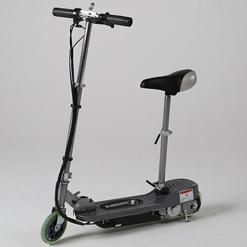 Kids Electric E Scooter Silver Ride On Battery Operated