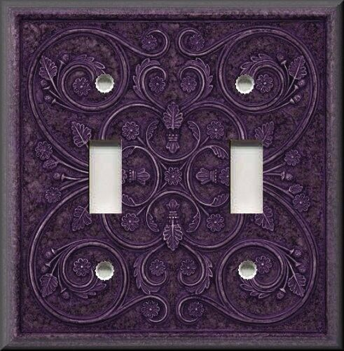 Light Switch Plate Cover - Home Decor - French Pattern ...