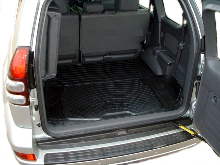 Toyota Land Cruiser Colorado Mats >> Toyota J120 Land Cruiser Prado Colorado natural rubber boot liner dog load mat 3262605920481 | eBay