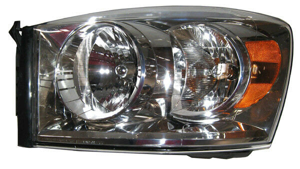 new replacement headlight assembly lh for 2007 08 dodge. Black Bedroom Furniture Sets. Home Design Ideas