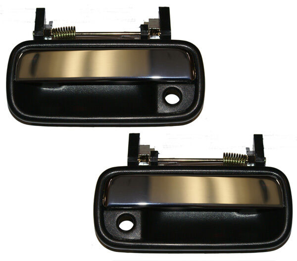 New chrome outside door handle pair for 1990 95 toyota for 1990 toyota 4runner rear window motor