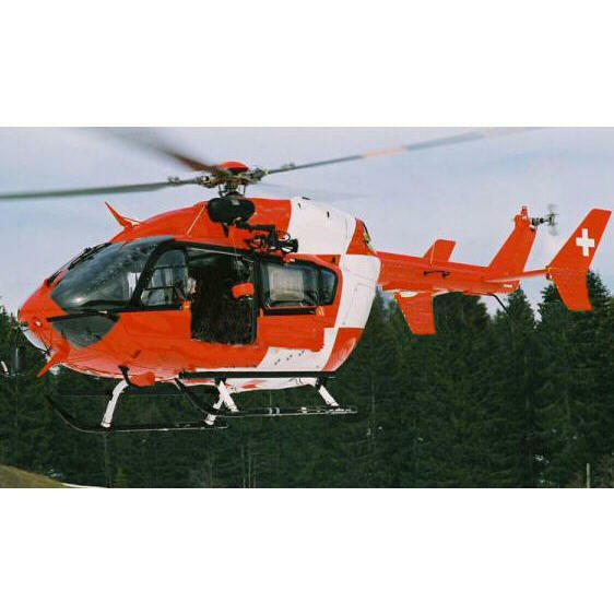 bk117 ec145 rumpf f r 450er rc hubschrauber ebay. Black Bedroom Furniture Sets. Home Design Ideas