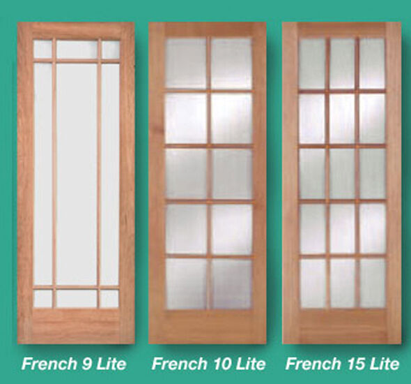 1 lite 10 lite or 15 lite stain grade cherry solid wood for 15 lite french door