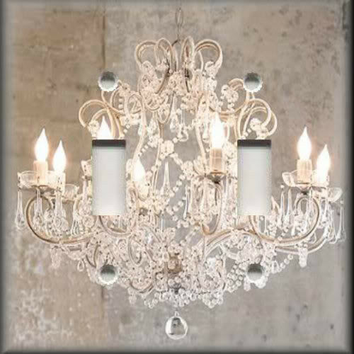 Light Switch Plate Cover - Glam Chic Home Decor - Crystal Chandelier Image eBay