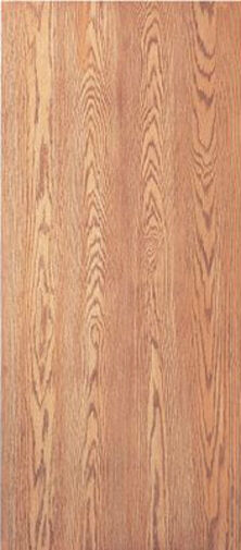 Flush solid core interior red oak stain grade wood doors 6 for Flush solid core wood interior doors