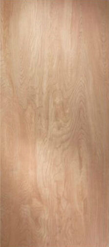 Flush Solid Core Birch Stain Grade Interior Wood Doors 6 8