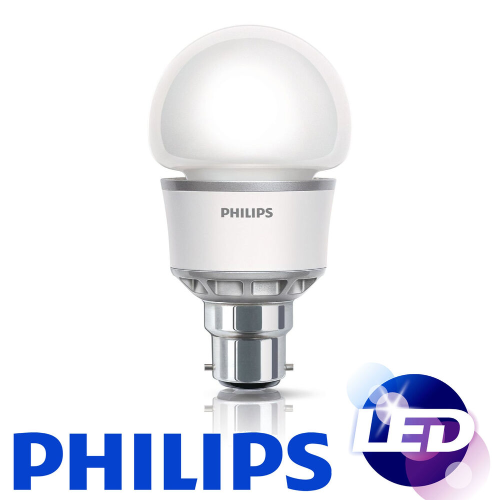 Led Philips Low Energy Saving Light Bulbs 5w Bc B22 Bayonet Cap 10 12 Lamps 240v Ebay