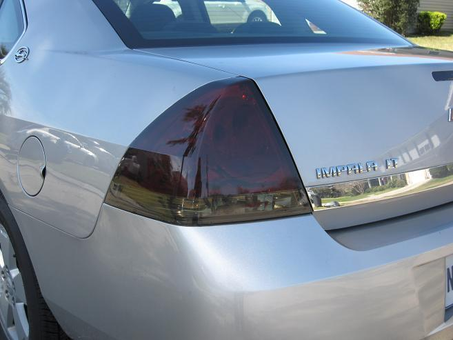 2006 2013 Chevrolet Impala Smoke Tail Light Precut Tint