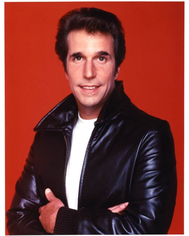 HAPPY DAYS FONZIE TV SHOW CAST PICTURE 8x10 PHOTO | eBay