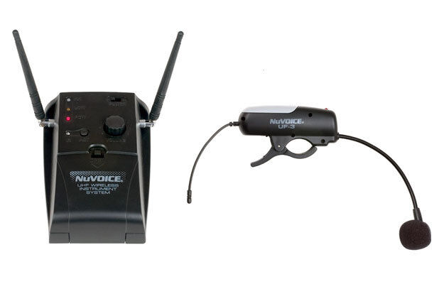 nuvoice uf3 uhf wireless instrument system flute microphone mic by vocopro ebay. Black Bedroom Furniture Sets. Home Design Ideas