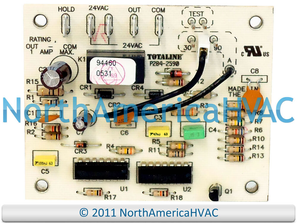 oem carrier bryant payne totaline defrost circuit board p284 2590 ebay