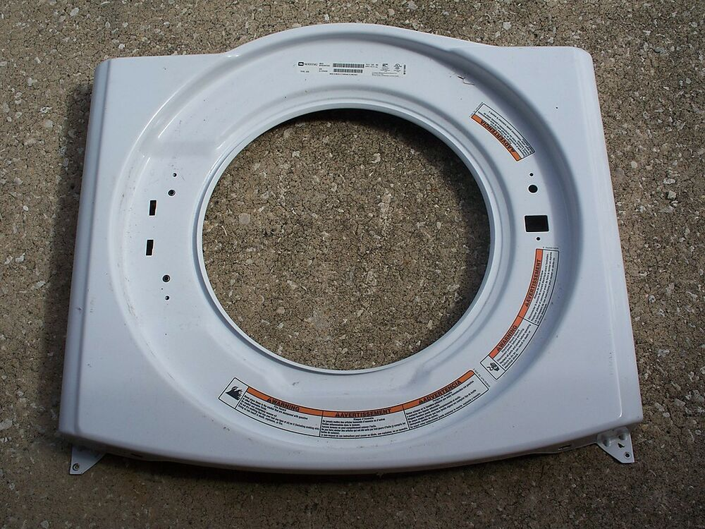 Maytag Epic Z Front Load Washer Front Panel W10306505