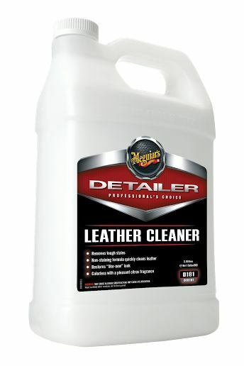 meguiar 39 s detailer interior leather cleaner gallon new non staining formula ebay. Black Bedroom Furniture Sets. Home Design Ideas