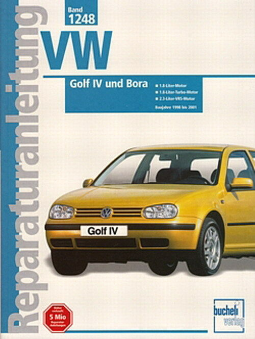 vw golf 4 vw bora 1998 2001 reparaturanleitung reparatur buch handbuch wartung ebay. Black Bedroom Furniture Sets. Home Design Ideas