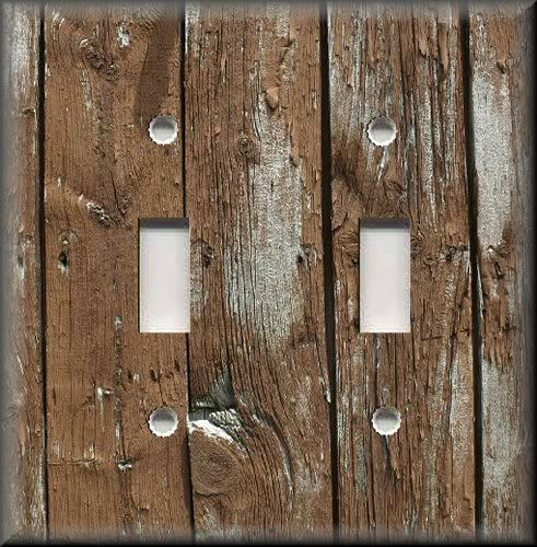 decorative light switch covers metal light switch plate cover home decor rustic image 11068