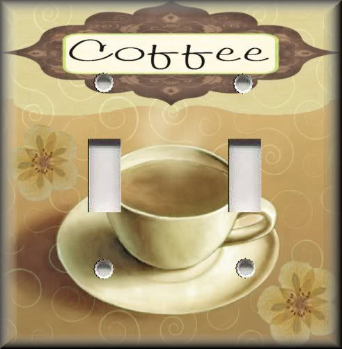 Light Switch Plate Cover Coffee Cafe Kitchen Decor Home Decor Coffee Ebay