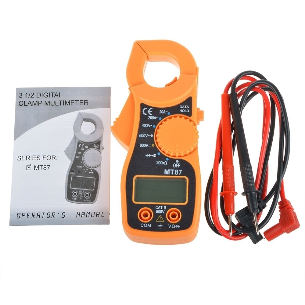 Electronic Voltage Tester : Lcd auto digital multimeter electronic voltage current