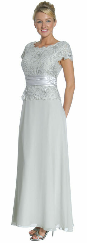 10 Colors Formal Modest Mother Of The Bride Groom Dress