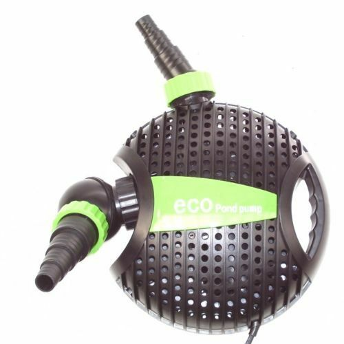 Submersible Water Eco Pond Garden Pump Filter 4600l H Koi Fish Waterfall Ebay