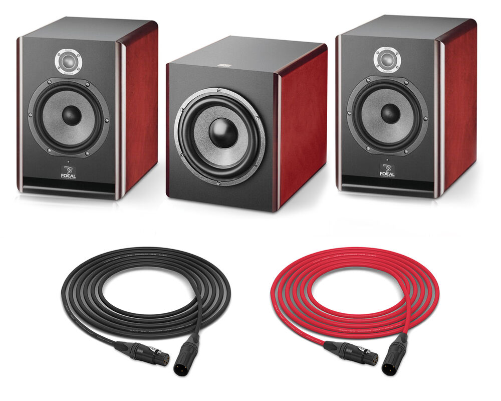 focal solo6 sub6 studio monitor set pro audio la ebay. Black Bedroom Furniture Sets. Home Design Ideas