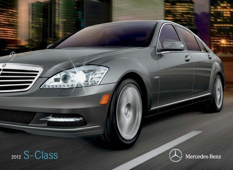 2012 mercedes benz s350 s400 s550 s600 24 page sales brochure catalog s class ebay. Black Bedroom Furniture Sets. Home Design Ideas