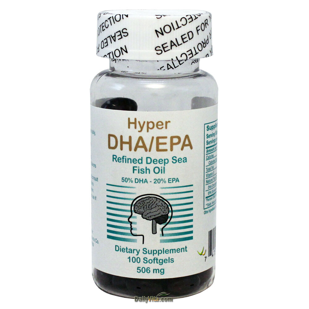 Concentrate dha epa from deep sea fish oil omega 3 100 for Epa dha fish oil