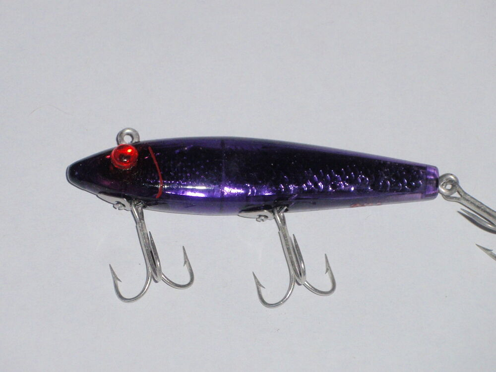 Mirrolure tt pd sinker fishing lure ebay for Fishing lures ebay