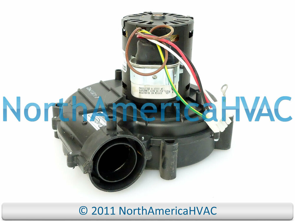 Oem york luxaire coleman furnace vent inducer motor 373 for Luxaire furnace draft inducer motor