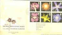 GB FDC 2004 ROYAL HORTICULTURAL GPO COVER. BUREAU HANDSTAMP