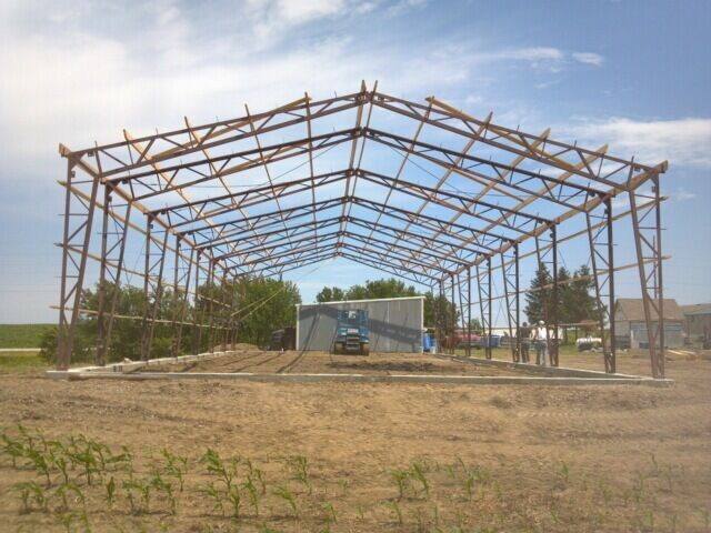 steel frame building ebay