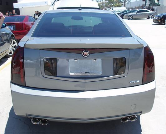 03 07 Cadillac Cts Smoke Tail Light Precut Tint Cover