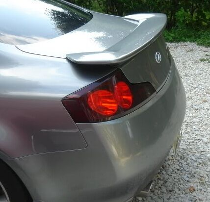 03 07 Smoked Tail Light With Cutout Tint Cover Overlays