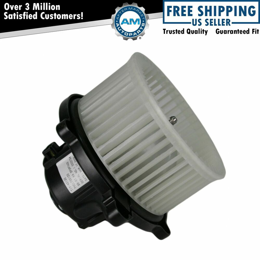 Heater Blower Fan : Heater a c ac blower motor w fan cage for kia