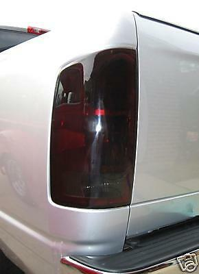 02 06 Dodge Ram Smoke Tail Light Precut Tint Cover Smoked Overlays Ebay