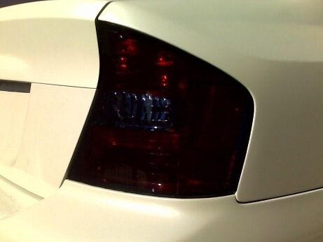 how to fix a tail light cover