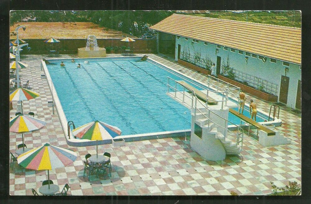 Singapore Swimming Pool Connell House Anson Road 50s Ebay