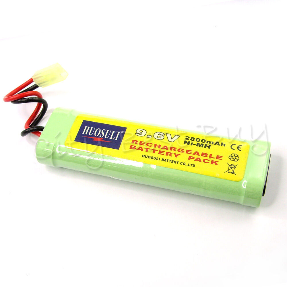 1x 9 6v nimh 2800mah super power ni mh rechargeable battery pack for rc cell ebay. Black Bedroom Furniture Sets. Home Design Ideas