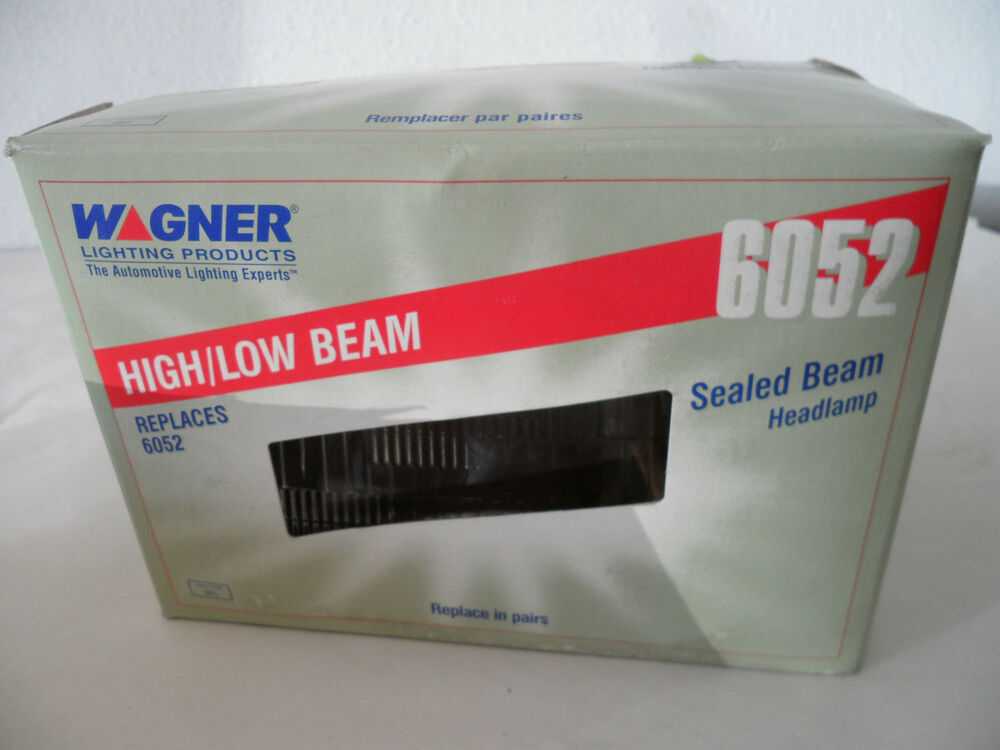 Wagner Lighting Products 6052 Sealed Beam Headlight