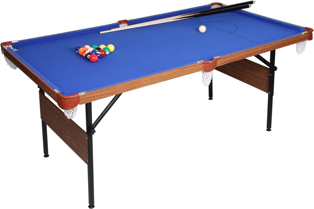 New 6ft x 3 39 folding pool snooker table full guarantee for Pool table 6 x 3